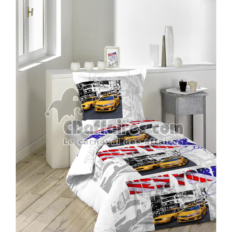 housses de couette 140x200 cm cdaffaires. Black Bedroom Furniture Sets. Home Design Ideas