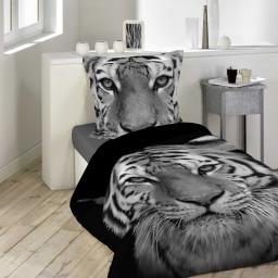 parure 2 p. 140 x 200 cm imprime 42 fils dessin place tigery