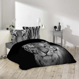 parure 3 p. 240 x 220 cm imprime 42 fils dessin place tigery