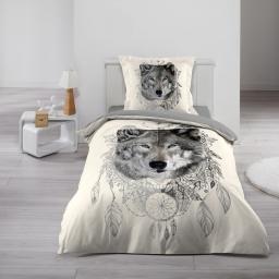 Parure de lit enfant 140 x 200 cm Garou