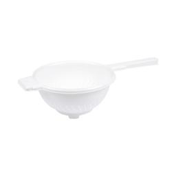 passoire avec poignee ø19*h9cm - blanc