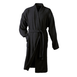 Peig kimono taille unique eponge unie vitamine Noir