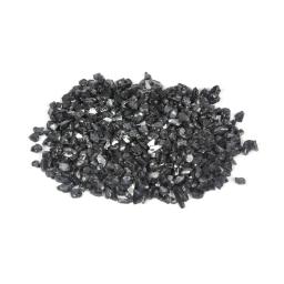 pépites de verre décoratives effet miroir - noir - 250grs