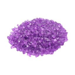 pepites de verre decoratives prune 630gr - env. 2-5mm