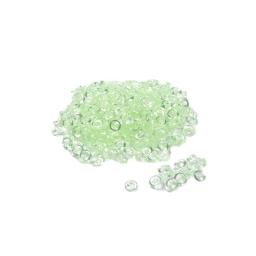 perles de pluie decoratives vert 120grs - env. 6-7mm