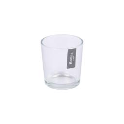 photophore verre transparent ø5.5*h6.5cm