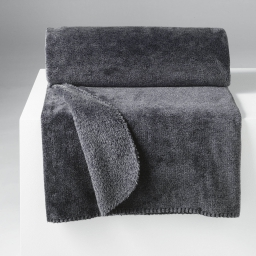 Plaid 125 x 150 cm flanelle sweden Anthracite