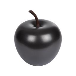 pomme en résine ø34.5cm noir mat