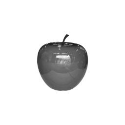 pomme polyresine 30*h27cm gris