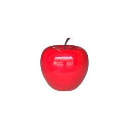 pomme polyresine 30*h27cm rouge