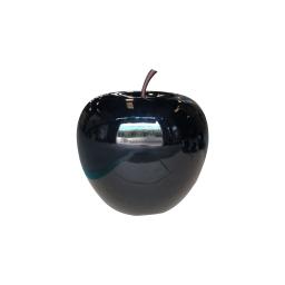 pomme polyresine 35*h30cm noir