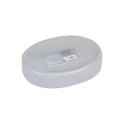 porte-savon ceramique vitamine gris clair