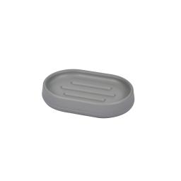 Porte-savon design  plastique vitamine e Gris Clair