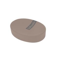 porte-savon effet soft touch theme bora bora taupe - ushuaia