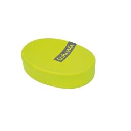 porte-savon effet soft touch theme hanoi vert - ushuaia
