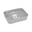 porte-savon plastique effet soft touch vitamine gris clair, image n° 1