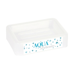 Porte-savon plastique imprimé aqua Non Attribue