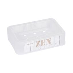 porte-savon plastique imprimé zen wood