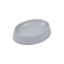 porte-savon plastique martelé urban gris clair