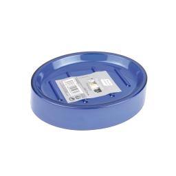 porte-savon plastique translucide vitamine bleu roi