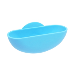 porte-savon ventouse plastique vitamine bleu ocean