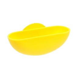 porte-savon ventouse plastique vitamine jaune