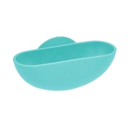 Porte-savon ventouse plastique vitamine vert menthe Vert/menthe