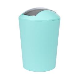 poubelle a bascule flic-flac plastique 5,6l vitamine vert menthe