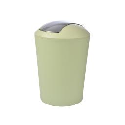 Poubelle a bascule flic-flac plastique 5,6l vitamine Wasabi