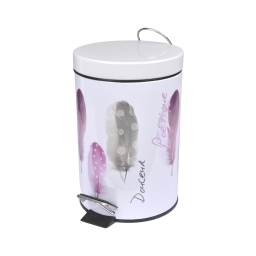 poubelle metal 3l douceur d'interieur design poetique