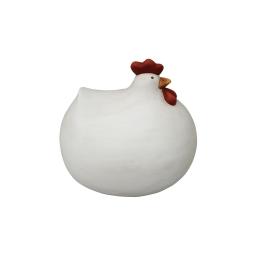 poule ceramique 24.2*20.2*h21.8cm