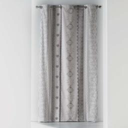 rideau a oeillets 140 x 240 cm coton imprime rosalia
