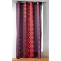 rideau a oeillets 140 x 260 cm panama polycoton imprime templa