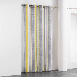 rideau a oeillets 140 x 260 cm polyester imprime initio