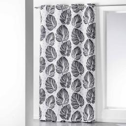 rideau a oeillets 140 x 260 cm polyester imprime manoa