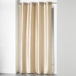 Rideau a oeillets 140 x 280 cm shantung uni shana Lin
