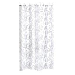 rideau de douche diamant polyester 180*h200cm urban blanc