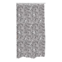 rideau de douche polyester 180*h200cm amazonia