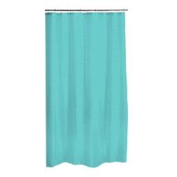 rideau de douche polyester 180*h200cm vitamine vert menthe