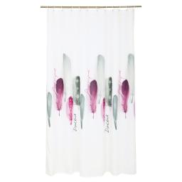 rideau douche textile 180x200cm douceur d'interieur design poetique
