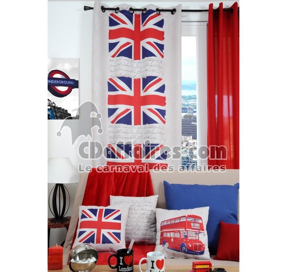 rideau occultant et isolant 135x260 cm britanique ebay. Black Bedroom Furniture Sets. Home Design Ideas