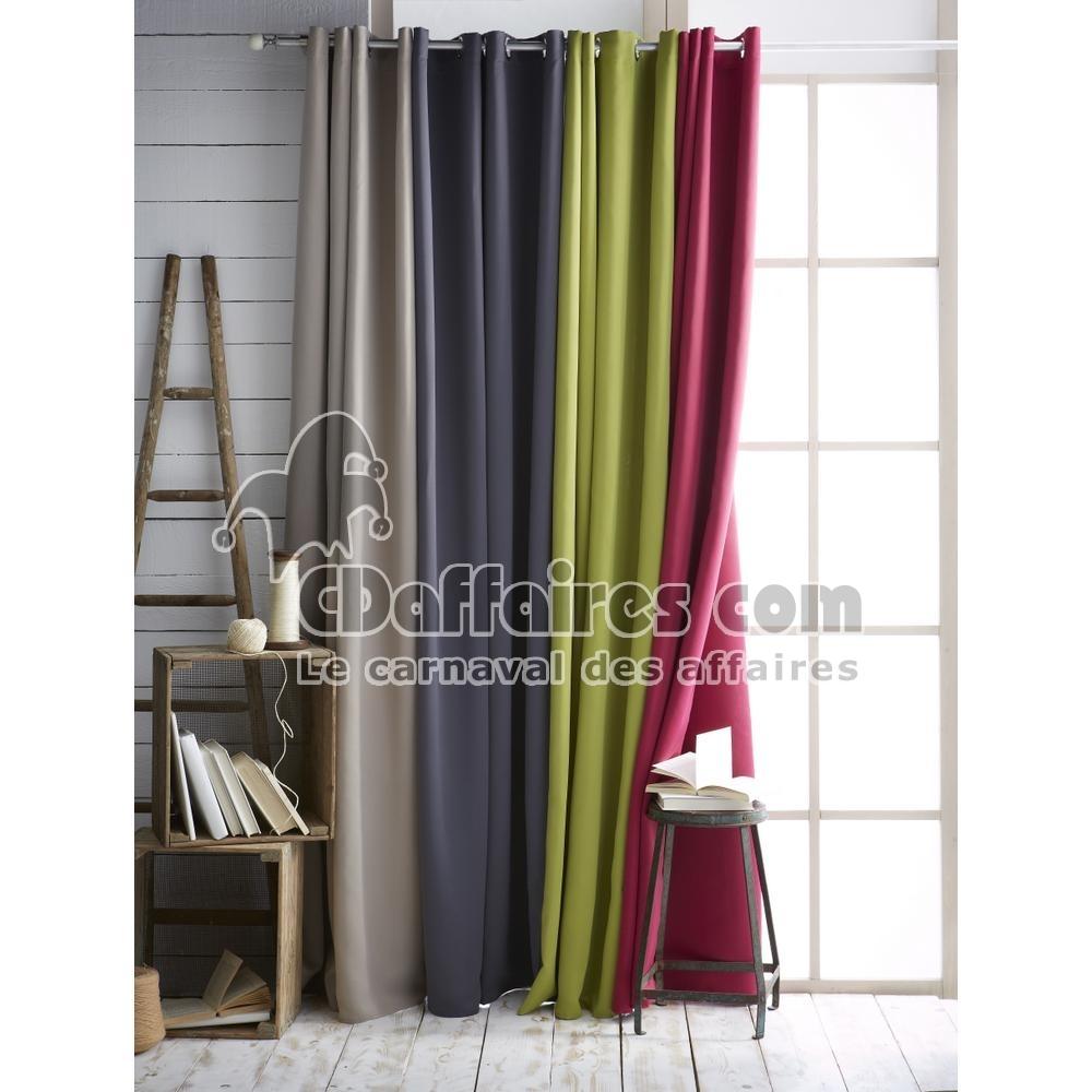 rideau occultant et isolant 140x260 cm nocturne vert ebay. Black Bedroom Furniture Sets. Home Design Ideas