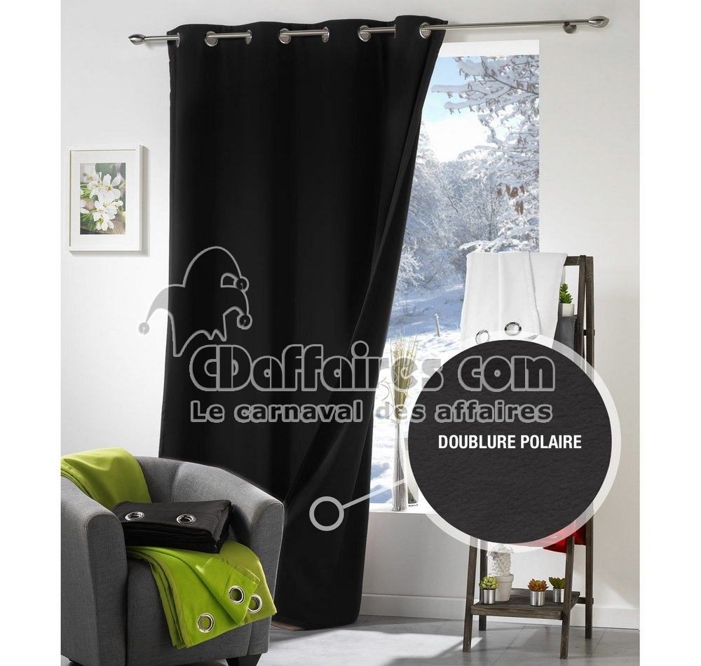 rideau anti froid. Black Bedroom Furniture Sets. Home Design Ideas
