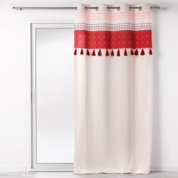 rideau tamisant 140 x 240 cm en coton Terrabella