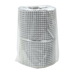 rouleau de table perle-couleur argent-2m*8cm