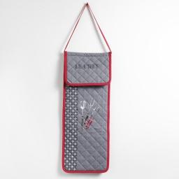sac a pain matelasse 28 x 70 cm coton imprime bbq