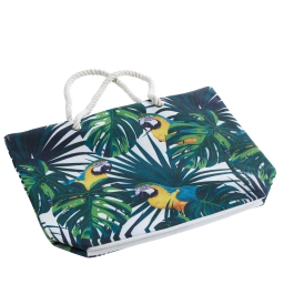 sac de plage 51 x 38 x 14 cm toile imprimee janeiro