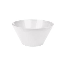 saladier conique 3.3l ø25*h13cm - blanc