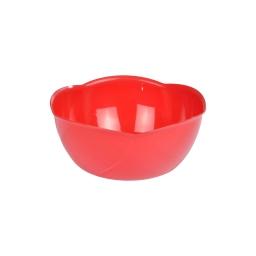 saladier fleur 16cm rouge
