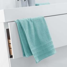 Serviette de toilette 50 x 90 cm eponge unie vitamine Menthe